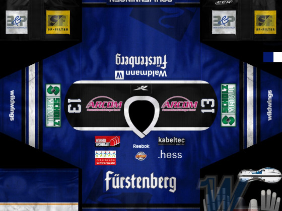 Schwenninger Wild Wings - Home 2012/13
