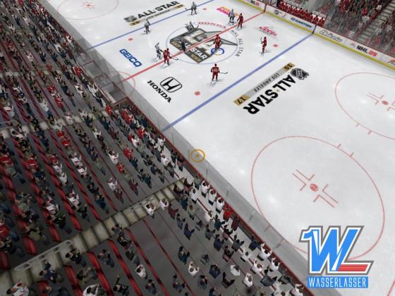 Eisfläche NHL All Stars 2017