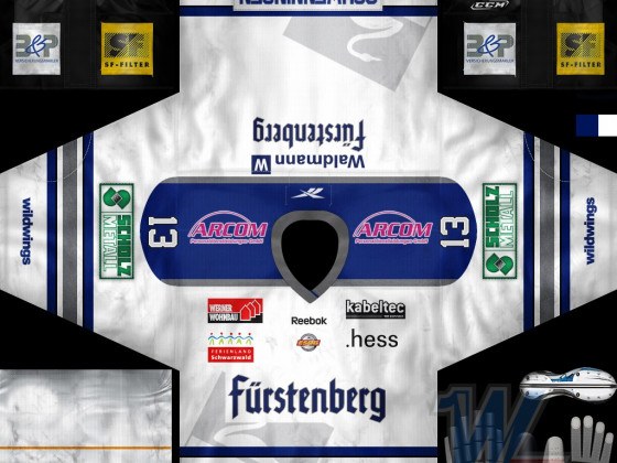 Schwenninger Wild Wings - Away 2012/13