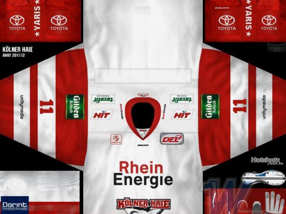 Kölner Haie - Away 2011-12